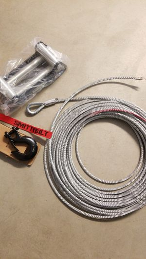 New Winch cable fairlead and hook for Sale in CA, US