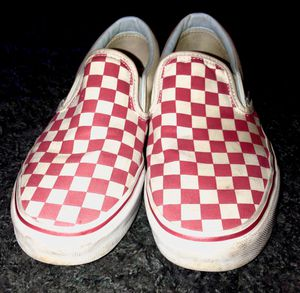 RED CHECKERED VANS for Sale in Deerfield Beach, FL