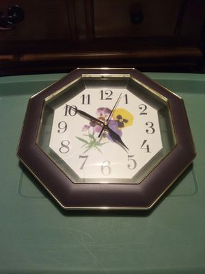 Battery powered clock for Sale in Quincy, IL