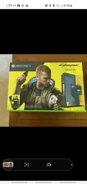 Limited edition Cyberpunk2077 Xbox One X Fb marketplace link in description for Sale in Torrington, CT