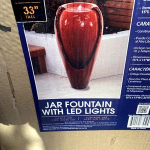 Red Jar Fountain for Sale in Commerce, CA