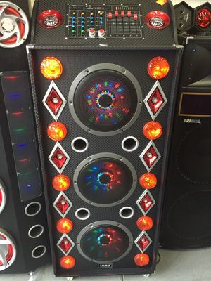 8000 wats speaker with Bluetooth ,FM,Disco lights for Sale in Austin, TX
