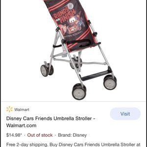 Disney Cars Stroller for Sale in League City, TX