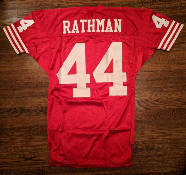 new arrival e1420 3e788 Tom Rathman Authentic Wilson Jersey Vintage 42 San Francisco 49ers Rare for  Sale in Oakland, CA - OfferUp