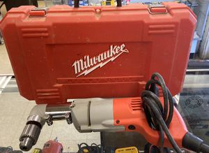 Milwaukee tools universal drill with case and handle for Sale in Jackson, MS