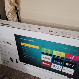 Brand New Sealed 55 Inch Smart 4k for Sale in Silver Spring, MD