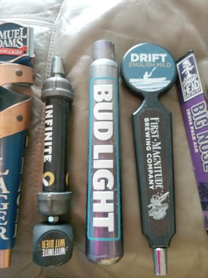 6 Tap Handles - $20.00 EACH OBO for Sale in New Port Richey, FL