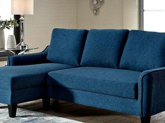 🍒Jarreau Blue Sofa Chaise Sleeper by Ashley for Sale in Philadelphia,  PA