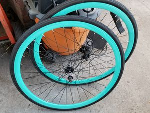 Like new 700c fixie, free wheel rims only for Sale in Hayward, CA