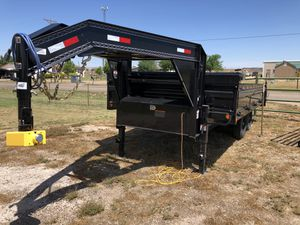 2018 Load Trail Dump and Side Load Trailer for Sale in Amarillo, TX