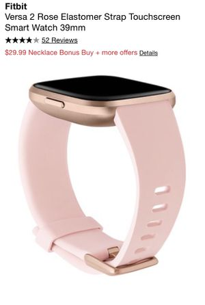 Fitbit Versa 2 Rose Gold for Sale in Gresham, OR