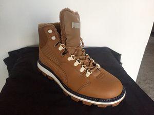 PUMA Desierto Fun Winter Boots Brown Size mens 8.5 for Sale in Philadelphia, PA