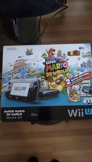 Wii U Super Mario 3-D world Edition $$$ or Trade for Sale in Artesia, CA