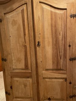 Beautiful Solid Wood Armoire for Sale in Auburn,  WA