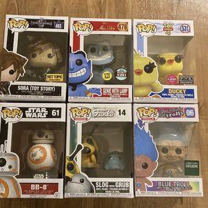 Funko Pop Lot Disney Star Wars Assorted for Sale in Browns Mills, NJ