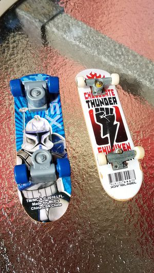 Fingerboard the Clone Wars and chocolateThunder lot for Sale in Toledo, OH