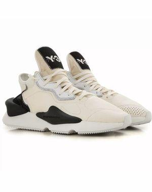 Adidas Y3 Kaiwa Yohji Yamamoto White Black BC0907 Mens Size 10.5 for Sale in Los Angeles, CA