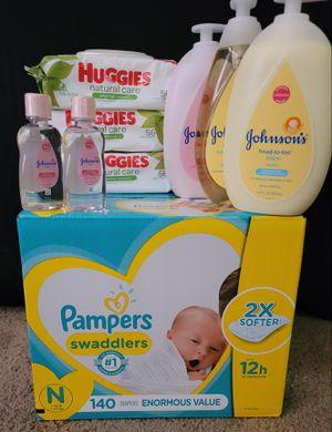 Pampers newborn bundle for Sale in Glendora, CA