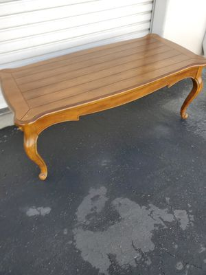 Solid Wood Coffee Table Good for house or business for Sale in Montclair, CA