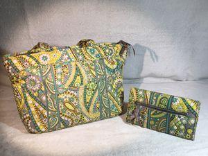 Vera Bradley Lemon Parfait purse & wallet for Sale in Reading, PA