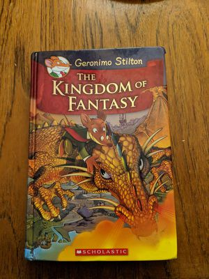 The Kingdom of Fantasy (Geronimo Stilton) for kids and toddler scholastic for Sale in Los Angeles, CA