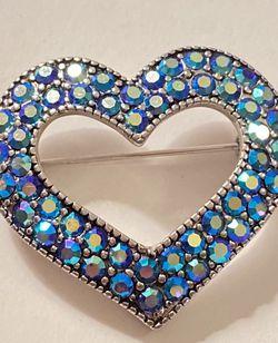 Blue Heart Brooch (obo) for Sale in Austin,  TX