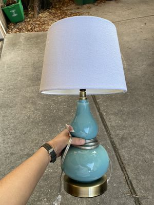 Target threshold lamp with shade for Sale in Houston, TX