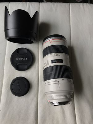Canon 70-200mm f/2.8 L for Sale in Portland, OR
