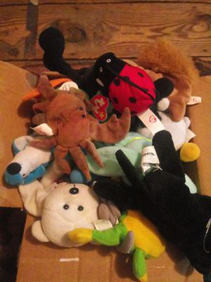 Bundle of assorted Beanie Babies for Sale in Detroit, MI