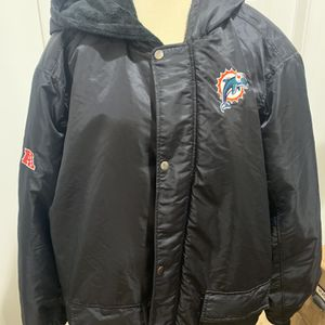 Miami Dolphin Men's Winter Jacket 4X for Sale in Fort Lauderdale, FL