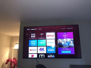 TCL Roku smart TV 55inch for Sale in Baytown, TX