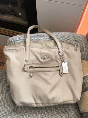 Coach Nylon Zip Tote for Sale in Arvada, CO