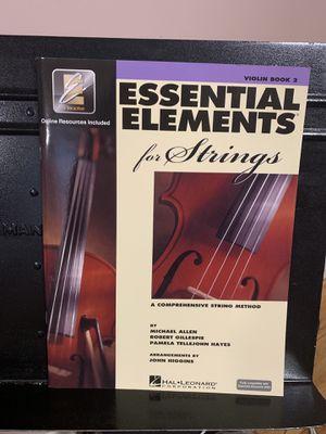 Essential Elements Violin Book 2 for Sale in Laurel, MD