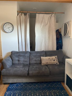 Grey couch for Sale in Temecula, CA
