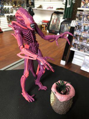 "Aliens Xenomorph Pink Warrior Arcade Game 7"" Inch NECA Reel Toys for Sale in La Habra Heights, CA"