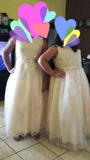 Flower Girl Dress Size 16/18 for Sale in Las Vegas, NV