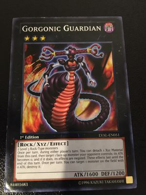 Gorgonic Guardian Yugioh for Sale in Tempe, AZ