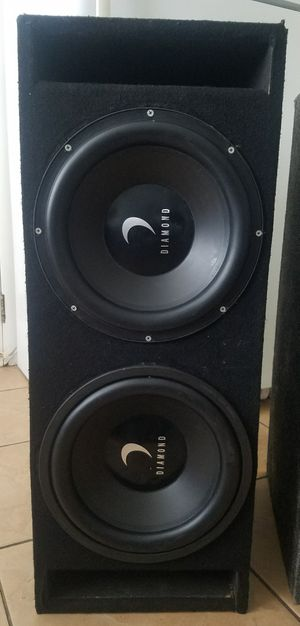 """12"""" Diamond Audio Subwoofers for Sale in Newman, CA"""