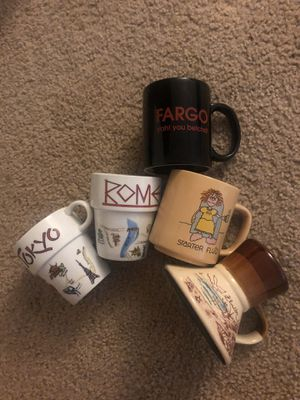 Vintage cups for Sale in Anchorage, AK