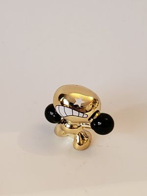 Gogo's limited edition gold toy figurine boxing gloves for Sale in Plainville, CT
