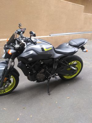 2016 Yamaha fz 07 motorcycle for Sale in Glendale, CA