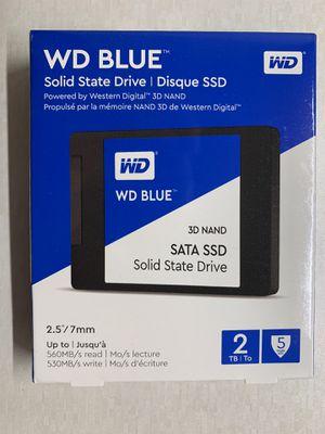 WD 2TB SSD 2.5 for Sale in Tempe, AZ