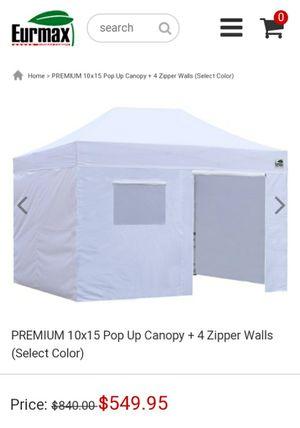 Eurmax premium heavy-duty canopy 10x15 for Sale in El Monte, CA