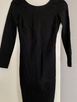 Black Long Sleeve Dress Size Small for Sale in Fort Worth,  TX
