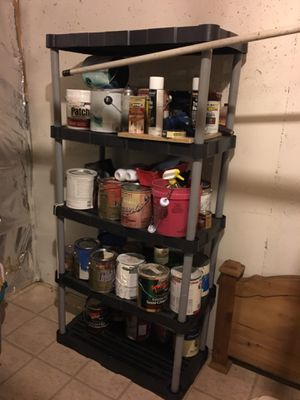 Plastic shelves for Sale in Martinsburg, WV