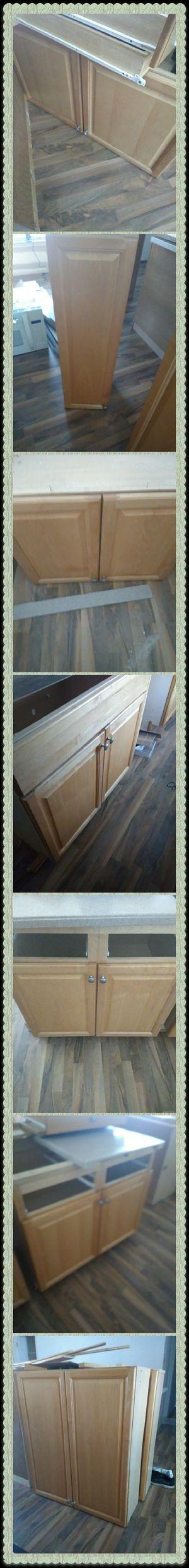 Light oak kitchen cabinets for sale for Sale in Chesapeake, VA