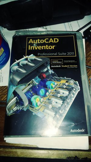 AutoCad Inventor Professional Suite 2011 for Sale in Cary, NC