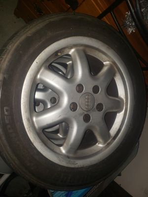 16inch audi wheels and tires for Sale in Escondido, CA