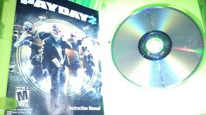 Xbox 360 payday 2 game for Sale in San Diego, CA