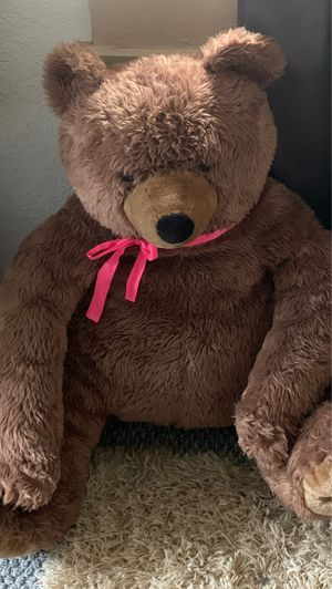 Brown stuffed teddy bear for Sale in South Pasadena, FL